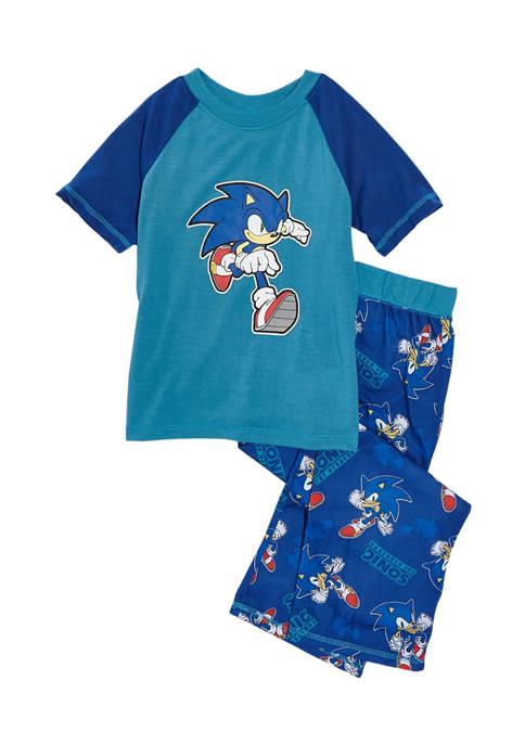 Komar Kids Boys 4-20 2 Piece Sonic Set