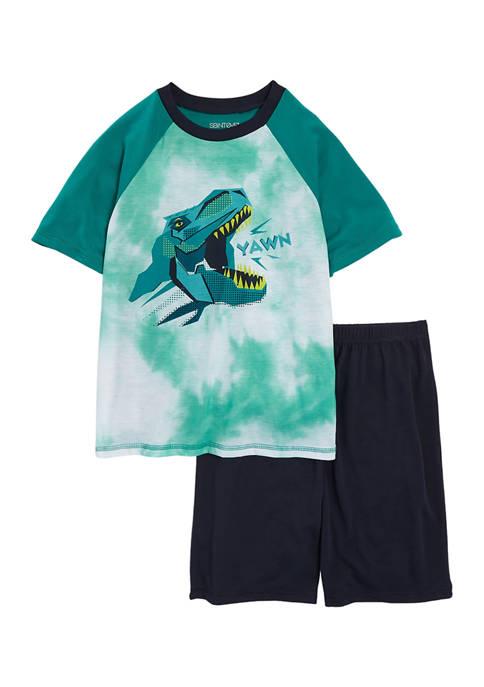 Saint Eve Kids Boys 8-20 Geo Dino Pajama