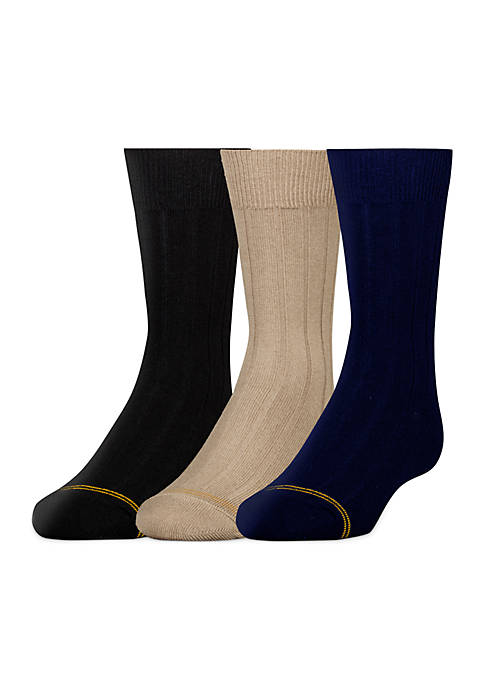 Gold Toe® 3 Pack Dress Sock