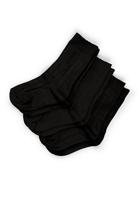 Gold Toe® Boys 8-20 3-Pack Wide Rib Dress