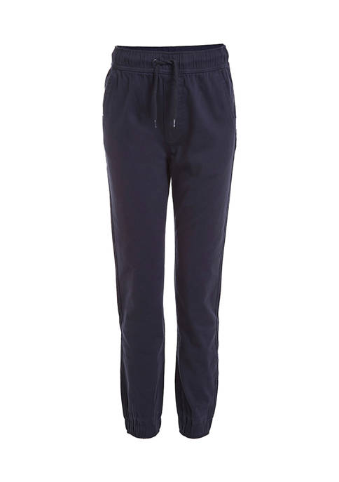 Chaps Boys 8-20 Ethan Flat Front Joggers