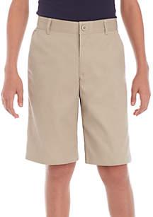 Boys 8-20 Stretch Twill Shorts