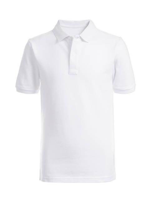 Boys 8-20 Husky Piqué Polo Shirt