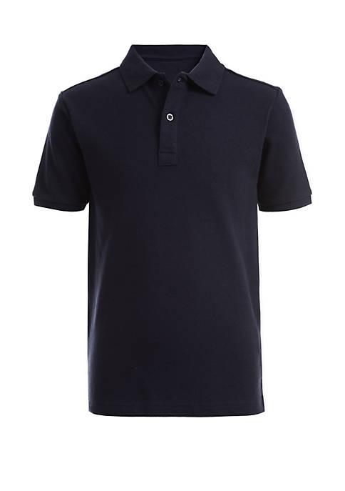 Nautica Boys 8-20 Husky Piqué Polo Shirt