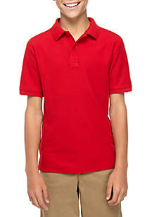 Nautica Boys 8-20 Pique Polo Shirt