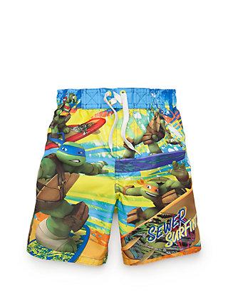 b99d8a54d3a27 Teenage Mutant Ninja Turtles®. Teenage Mutant Ninja Turtles® Character Swim  Trunks Boys 4-7