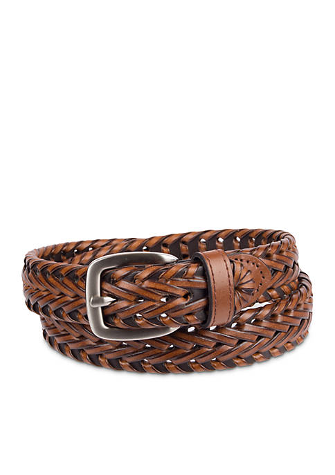 Crown & Ivy™ Boys 4-20 Weave Braided Belt