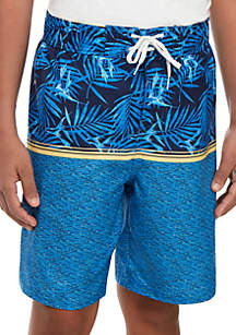 TRUE CRAFT Boys 8-20 Microfiber Swim Boardshorts
