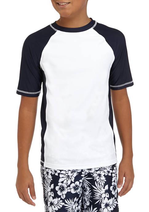 ZELOS Boys 8-20 Rashguard Swimshirt