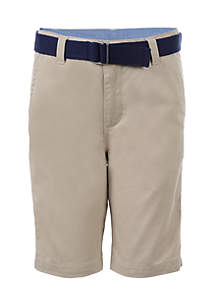 Belted Shorts Boys 4-7
