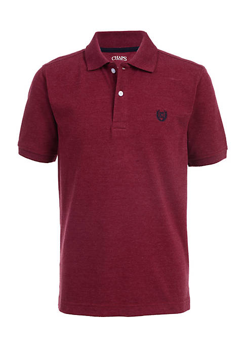 Chaps Boys 4-7 Solid Polo Top