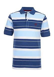 Boys 4-7 Striped Polo Shirt