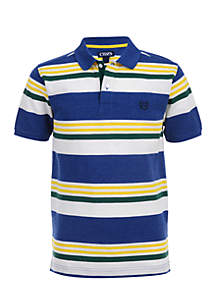 Boys 4-7 Striped Polo Shirt