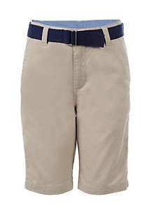 Belted Shorts Boys 8-20