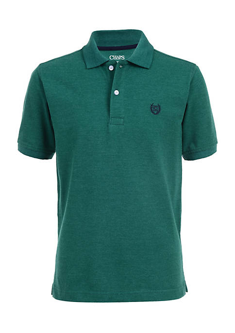 Chaps Boys 4-7 Robert Solid Polo Top
