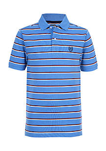 Boys 4-7 Cooper Stripe Polo Shirt