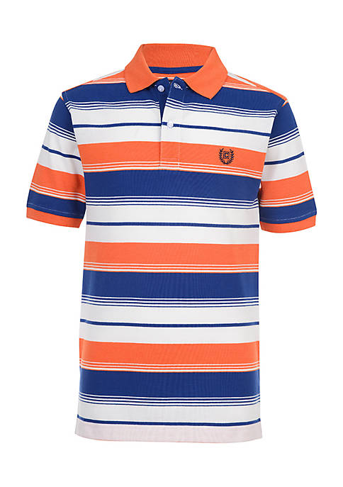 Chaps Boys 4-7 Damian Striped Polo