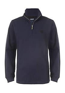Boys 8-20 1/4 Zip Mini-Thermal Sweater
