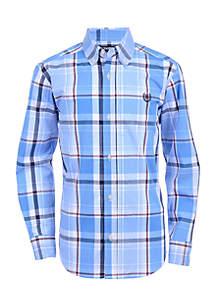 Boys 4-7 Gabriel Long Sleeve Woven Shirt