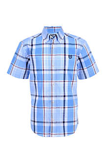 Boys 8-20 Caleb Short Sleeve Woven Shirt