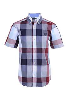 Boys 8-20 Isaiah Short Sleeve Woven Shirt