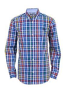 Boys 8-20 Carson Long Sleeve Woven Shirt