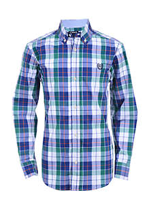 Boys 8-20 Jameson Long Sleeve Woven Shirt