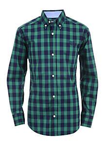 Boys 8-20 Elias Long Sleeve Woven Shirt
