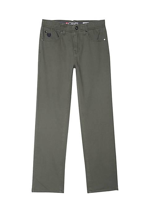 Chaps Boys 8-20 Tomas Five-Pocket Pants