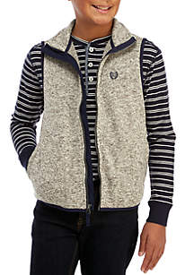 Boys 8-20 Parker Sweater Fleece Vest
