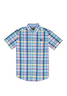 Chaps Boys 8-20 Woven Delan Shirt