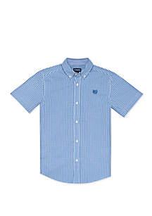 Chaps Boys 4-7 Fashion Woven Gingham Shirt