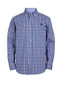 Chaps Boys 4-7 Long Sleeve Woven Button Down Shirt
