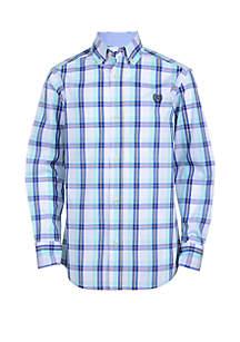 Chaps Boys 8-20 Long Sleeve Woven Shirt