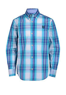 Chaps Boys 8-20 Long Sleeve Woven Shirt