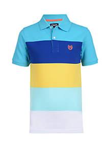 Chaps Boys 8-20 Piqué Stripe Polo Shirt