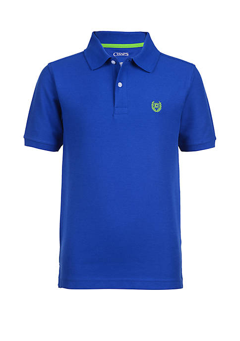 Boys 4-7 Solid Piqué Polo Shirt