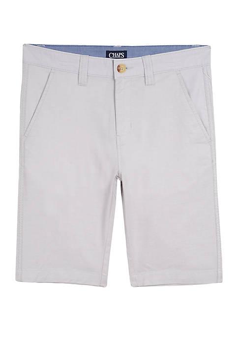 Chaps Boys 4-7 Straight Oxford Shorts