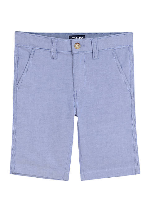 Chaps Boys 4-7 Oxford Shorts
