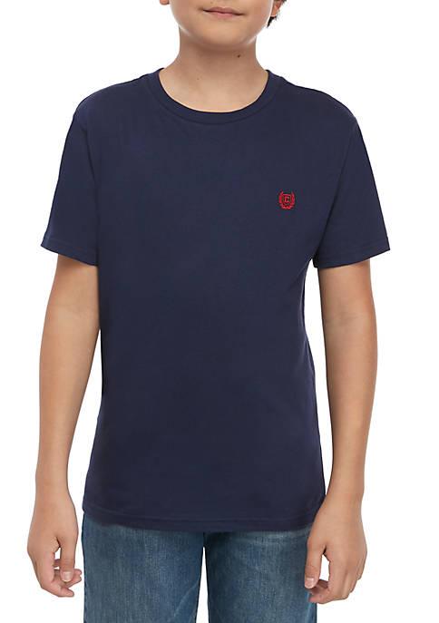 Boys 8-20 Short Sleeve Solid T Shirt