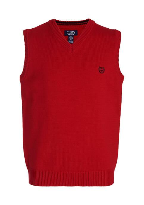 Chaps Boys 8-20 V-Neck Sweater Vest