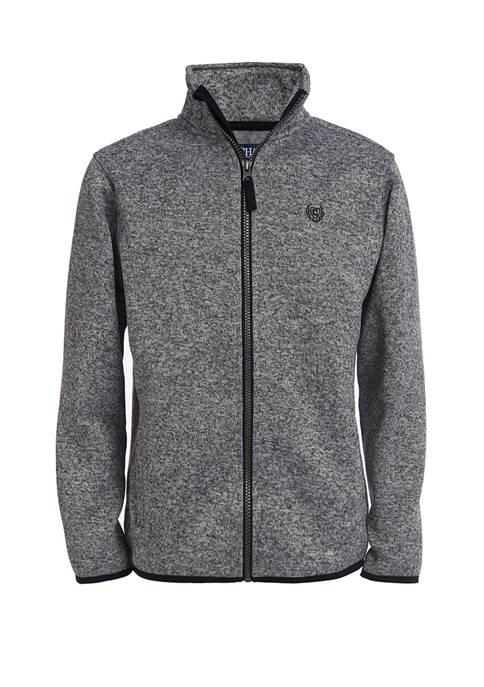 Chaps Boys 8-20 Long Sleeve Fleece Jacket