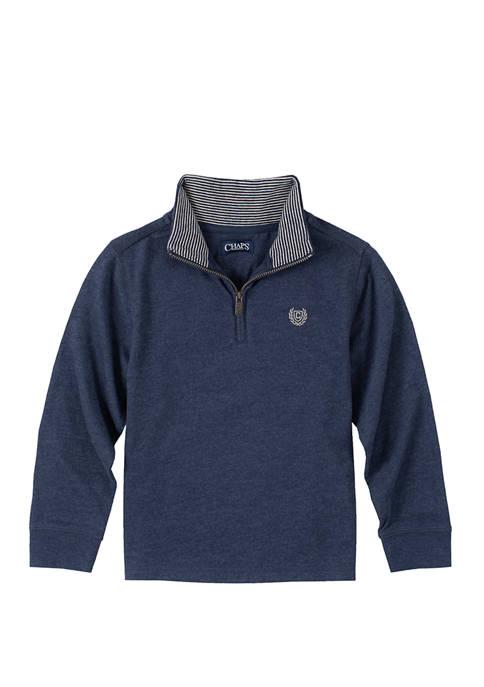 Boys 4-7 1/4 Zip Pullover
