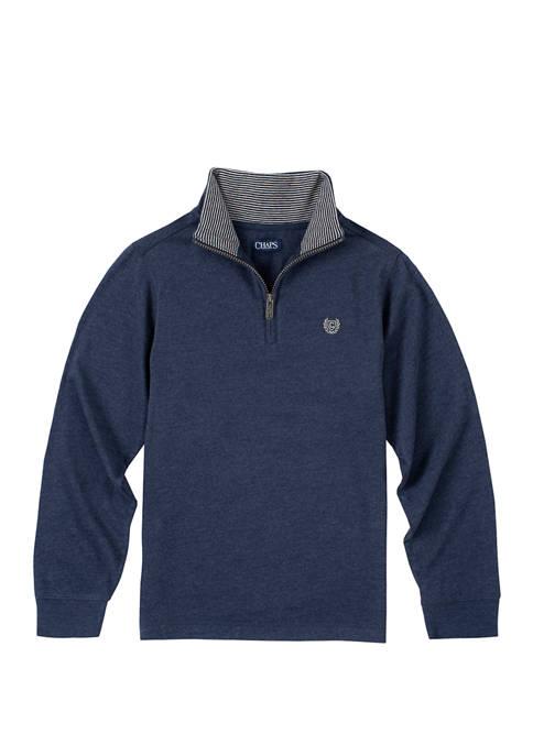 Boys 8-20 Knit Jersey Pullover