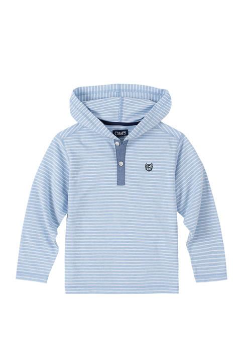 Chaps Boys 4-7 Jersey Stripe Pullover