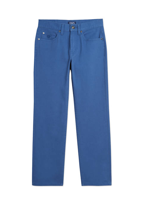 Chaps Boys 8-20 Five Pocket Twill Pants