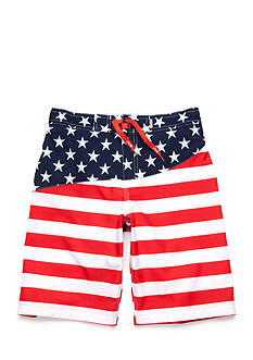 Red Camel® Printed Stretch Board Shorts Boys 8-20
