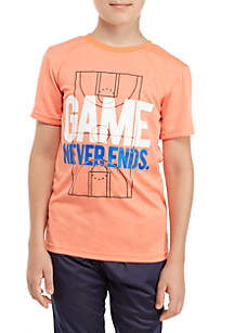 Boys 8-20 Heather Graphic Tee