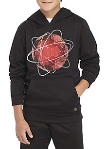 ZELOS Boys 8-20 Graphic Fleece Hoodie