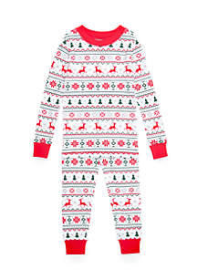 Boys 4-20 Fairisle Pajama Set